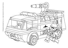 Coloriage Camion De Pompier Imprimer Thejquery Info