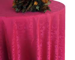 90 round seamless damask jacquard polyester tablecloths 14 colors