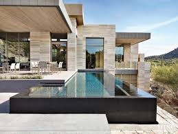 modern neutral pool area with infinity lap residential infinity pools39 infinity
