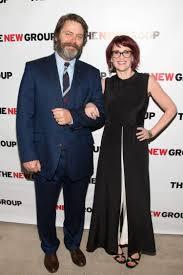 Megan Mullally Nick Offerman And Megan Mullally Are A Boring Couple Ny Daily News