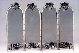 beautiful tall fireplace screen for our house wonderful tall fireplace screen with the metallic flowers