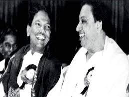 karunanidhi death: Friends & foes: How Karunanidhi and MGR made each other    Chennai News - Times of India