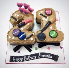 Mac Makeup Birthday Cake Buy Online Free Uk Delivery New Cakes