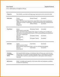 Libre Office Marvelous Resume Template Libreoffice Best Sample