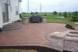 Simple brick patio designs Garden How To Lay Brick Patio Yourself Circular Patio Designs Build Your Own Stone Fire Pit Gicpinfo How To Lay Brick Patio Yourself Gicpinfo
