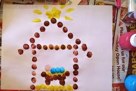 Christmas Crafts For Kids To Make Baby Jesus In A Manger Fingerprint Craft For Kids At Christmas
