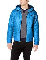 U S Polo Assn Mens Hooded Puffer Jacket Amazon Co Uk