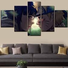 SDSDS Canvas Print 5 Panel Anime Naruto Hinata Hyuga Naruto Uzumaki Poster  Pictures Living Room Home Art Decoration B Size 2: Amazon.de: Küche &  Haushalt