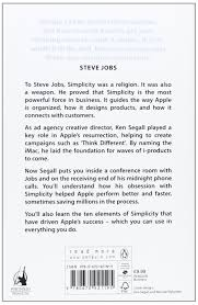 insanely simple the obsession that drives apple s success amazon insanely simple the obsession that drives apple s success amazon co uk ken segall 9780670921195 books