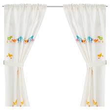 barnslig ringdans curtain with tie back ikea kids room
