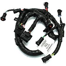 amazon com 3c3z9d930aa fuel injector harness 6 0l ford diesel oem DT466E Injector Wiring Harness 3c3z9d930aa fuel injector harness 6 0l ford diesel oem