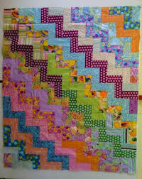91 best RAIL FENCE QUILTS images on Pinterest | Tutorials, DIY and ... & Wacky Rail Fence Quilt - Free Pattern - Handcrafting With Love Adamdwight.com