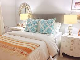 White And Turquoise Bedroom Bedroom Bedroom Design Using Coral And Turquoise Bedding Plus