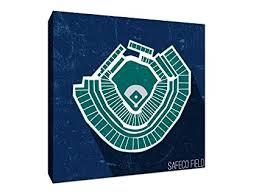 Safeco Field Seating Chart Amazon Com Safeco Field Seating Map Baseball Seating Map