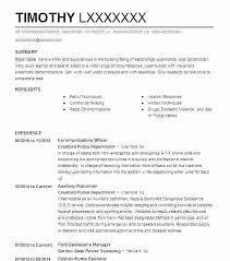Police Officer Resume Template Best of Police Officer Resume No Experience Fastlunchrockco