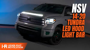 Tundra Night Rider Light Nsv Led Light Bar For The Toyota Tundra Install Steps