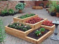 Small Picture DIY How to Build A Sturdy Three Tiered Raised Garden Box Tight
