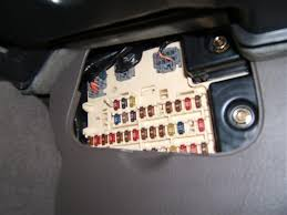 2000 lincoln ls relay 1 in passenger side fuse compartment 2004 Lincoln Ls Fuse Box Location passanger footwell fusebox jpg 2004 lincoln ls fuse panel location