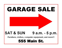 Garage Sale Flyers Free Templates Church Rummage Sale Flyer Template Insaat Mcpgroup Co