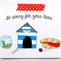 Card For Loss Of Pet Shop Sympathy Cards For Pets On Wanelo