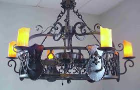 full size of living marvelous rustic wrought iron chandelier 9 20iron 20fluer 20de 20lis 206 20light