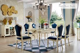 Details Zu Klassische Barock Antik Stil Ess Garnitur Tisch 6 Stühle Esszimmer Set Neu 801