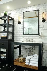 tile framed mirror bathroom industrial with metal makeup mirrors mexican tile framed mirror