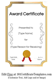 free recognition certificates beautiful recognition certificate template free ideas no