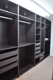 Fabulous Wooden Ikea Bedroom Closets Presenting Many Shelves And Ikea Closet Organizer Walk In Closet