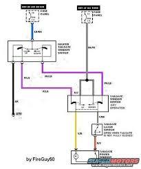 rear window won't work ford bronco forum 1978 ford bronco fuse box diagram at 1979 Bronco Wiring Diagram