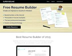 Free Printable Resume Maker Fascinating Best Resume Creator Pro Resume Creator Super Builder Best Of Makers