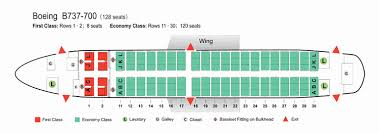 Boeing 737 700 Winglets Seating Chart Clean Seatguru Southwest How To Choose A Seat On A Southwest