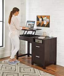 lift top desk. Lift-Top Desk In Espresso #furniture #office Lift Top