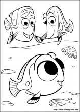 Small Picture Finding Dory coloring pages on Coloring Bookinfo