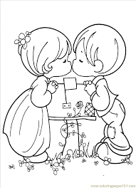 Small Picture Coloring Pages Precious Moments 1 4 Cartoons Precious moments