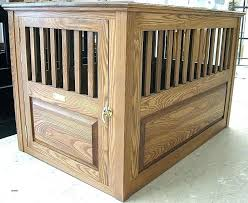 dog crate table diy end nightstand beautiful tucker pet handmade furniture style hi dining