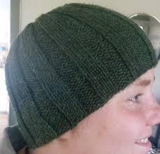 Knit Beanie Pattern Impressive Ribbed Knit Hat Pattern A Knitting Blog