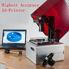 sla 3d printer photosensitive resin precision laser form1 sla 0 025mm model diy 3d printer 3d printer sls 3d printing from shoes hj88