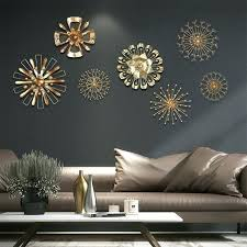 modern blossom abstract metal wall art home decor iron gold sticker decorative lips hobby lobby