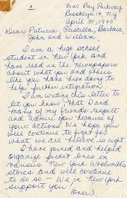 State Archives of Florida - Image 2: Last week, we shared a letter from  Patricia and Priscilla Stephens to their parents from jail in March 1960  (http://on.fb.me/18uu4ge). Patricia, her sister Priscilla, five