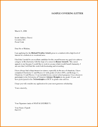 Application Cover Letter What Does A Cover Letter For Job Application Look Like 6