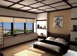 Simple, clean lines define teh Asian style bedroom - Decoist