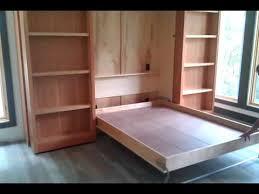 Hidden Murphy bed wall unit