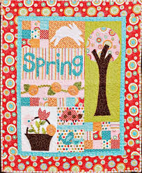 Hop To It! Fun Easter Quilting Patterns and Projects & Spring Delight Easter - Quilt Pattern Craftsy.com Adamdwight.com