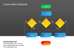 3d Flow Chart Powerpoint Powerpoint Slide Flow Chart Diagram 3d Multicolor Cg