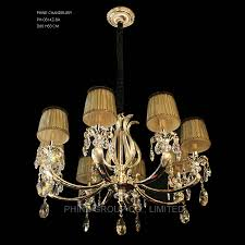 china phine ph 0814z 8 arms modern swarovski crystal decoration pendant lighting with fabric shade fixture lamp chandelier light china chandelier light