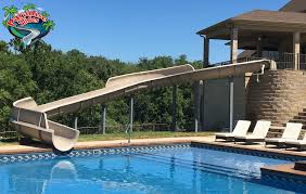 beautiful pools with slides. Perfect Beautiful 1  A Beautiful Custom Slide In Our New Color  Inside Pools With Slides G