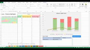 How To Track Your Goals With The Best Excel Habit Tracker Template 2 0