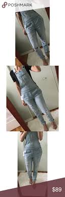 American Eagle Distressed Overalls Xs American Eagle Tomgirl
