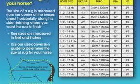 Horse Blanket Chart